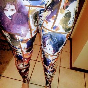 Painted Leggings